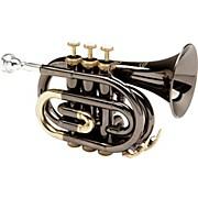 MXPT-5801-BK Black Nickel Series Pocket Trumpet Black Nickel