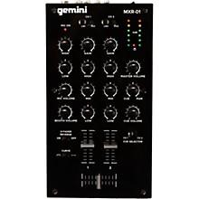 Gemini MXR-01 2-Channel DJ Mixer