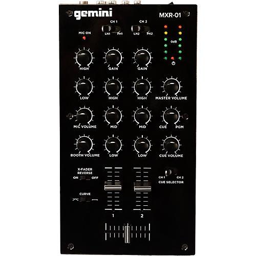 Gemini MXR-01 2-Channel DJ Mixer thumbnail