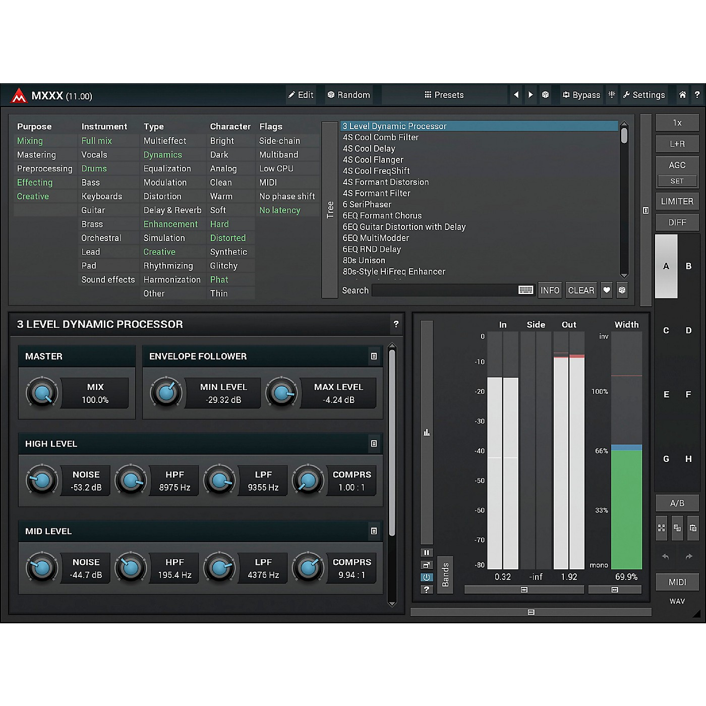 MeldaProduction MXXX Modular Multi-Effects Processor Software Download thumbnail