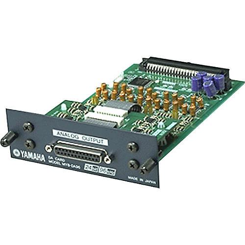 Yamaha MY8DA96 8-Channel 24-bit/96kHz analog line-level output card thumbnail