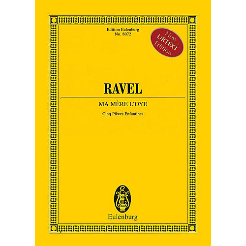 Eulenburg Ma mère l'oye (Cinq pièces enfantines) Study Score Series Softcover Composed by Maurice Ravel thumbnail