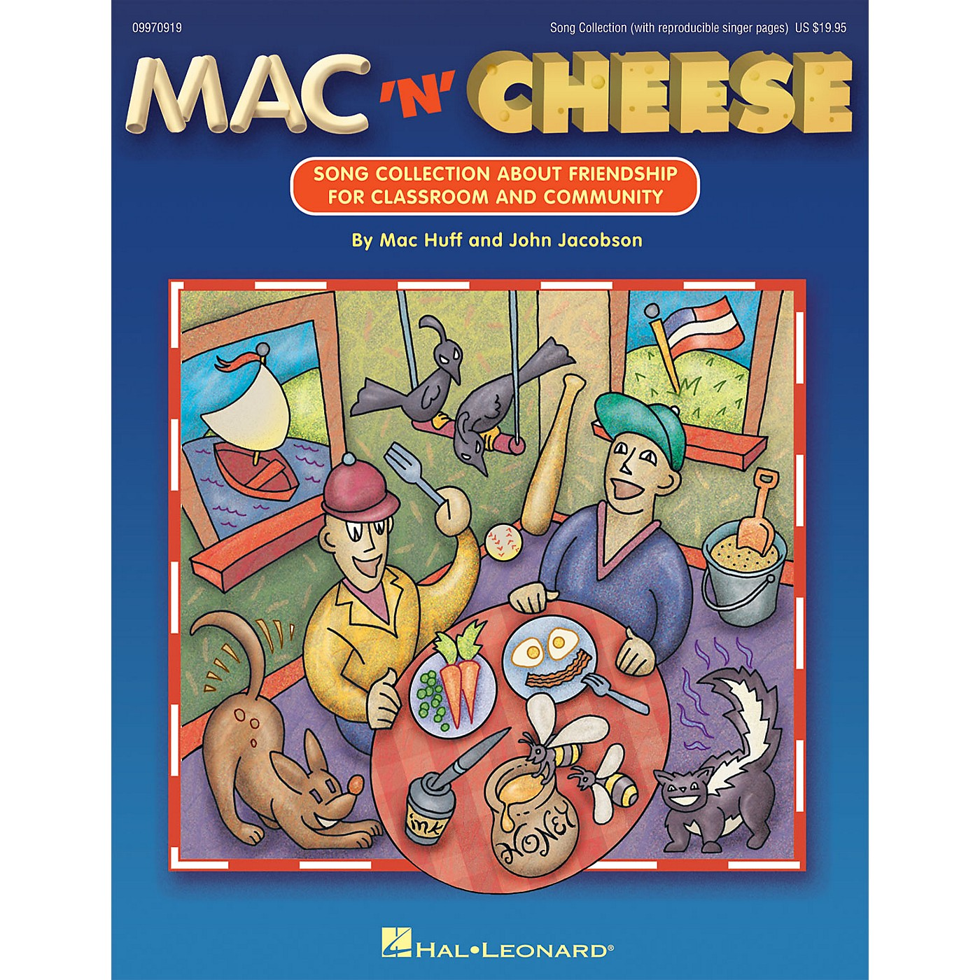 Hal Leonard Mac 'n' Cheese (Song Collection About Friendship) COLLECTION Composed by John Jacobson thumbnail