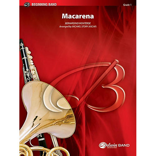 Alfred Macarena Concert Band Grade 1 Set thumbnail