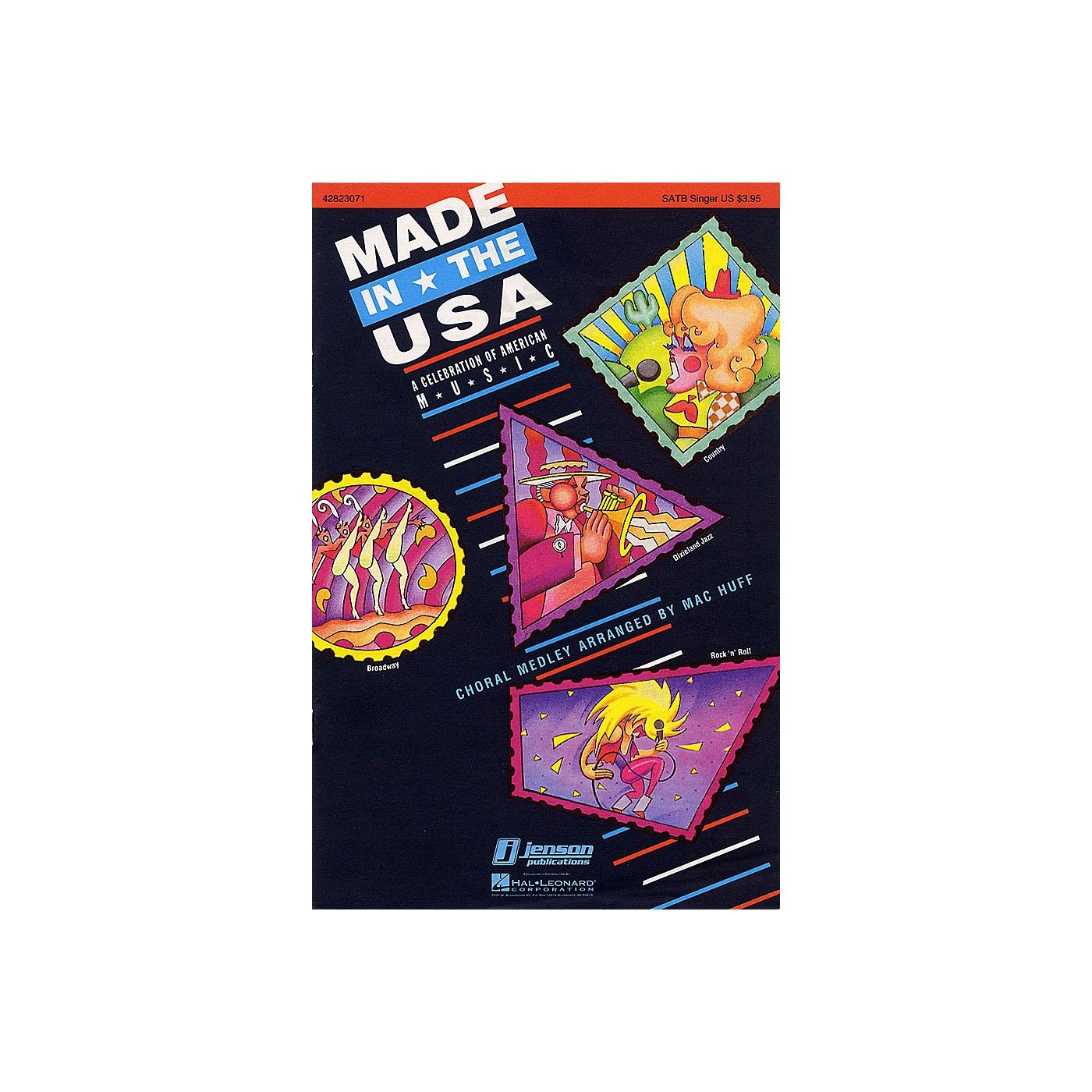 Hal Leonard Made in the USA (Feature Medley) SAB Singer Arranged by Mac Huff thumbnail