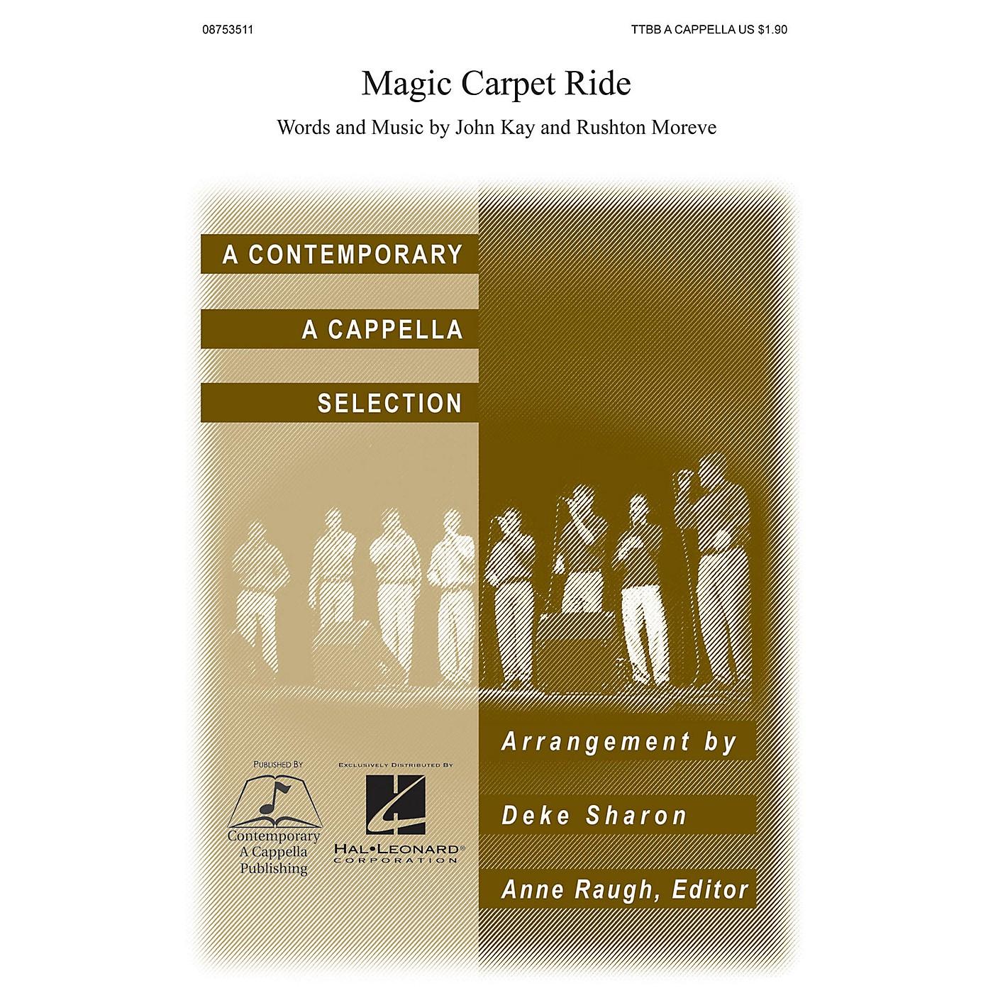 Contemporary A Cappella Publishing Magic Carpet Ride TTBB A Cappella arranged by Deke Sharon thumbnail