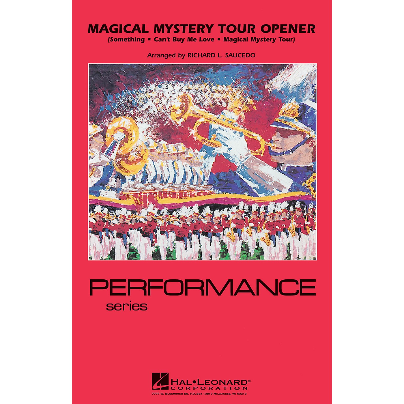 Hal Leonard Magical Mystery Tour Opener Marching Band Level 4 by The Beatles Arranged by Richard Saucedo thumbnail