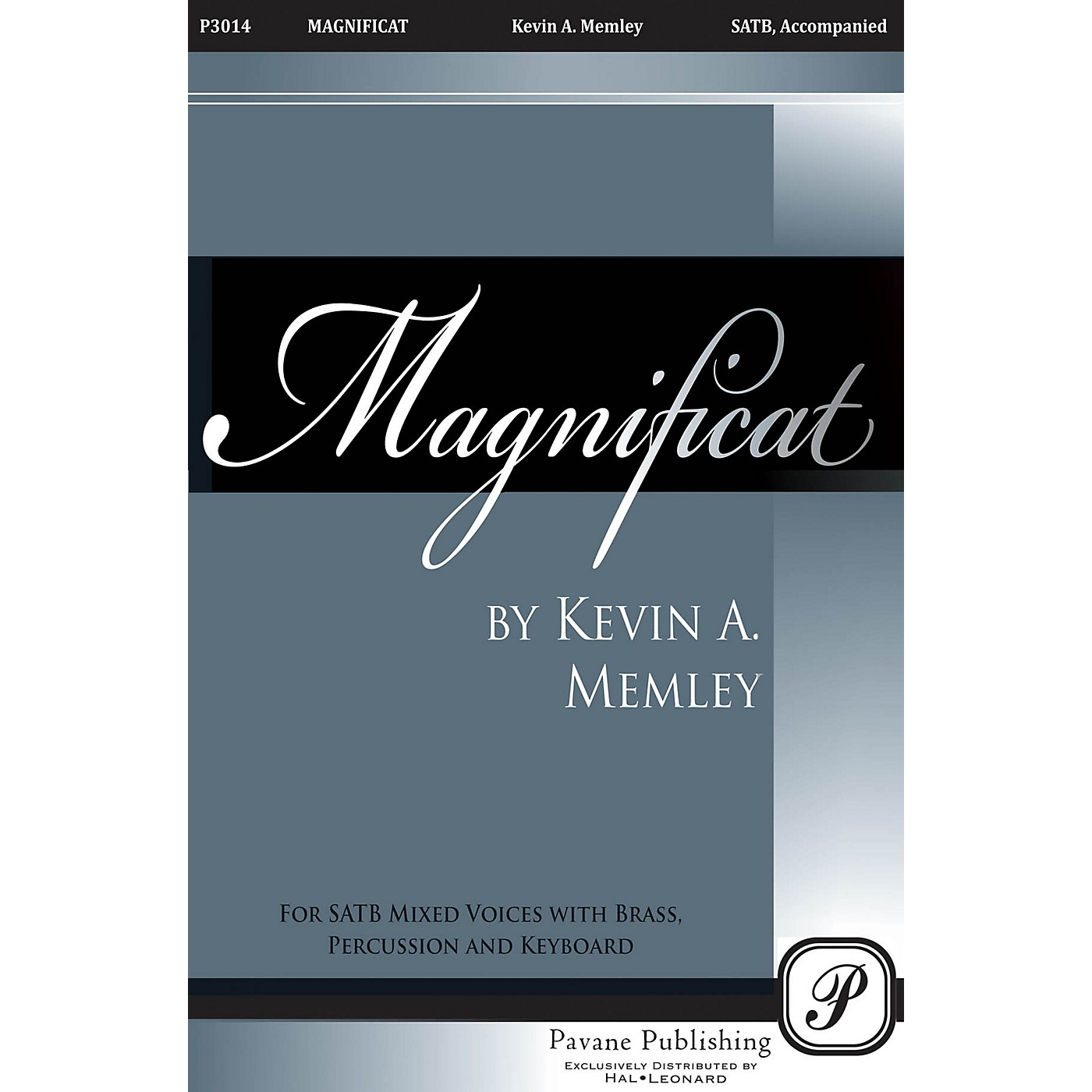 Pavane Magnificat (Brass Orchestra Parts on CD) Parts Composed by Kevin Memley thumbnail