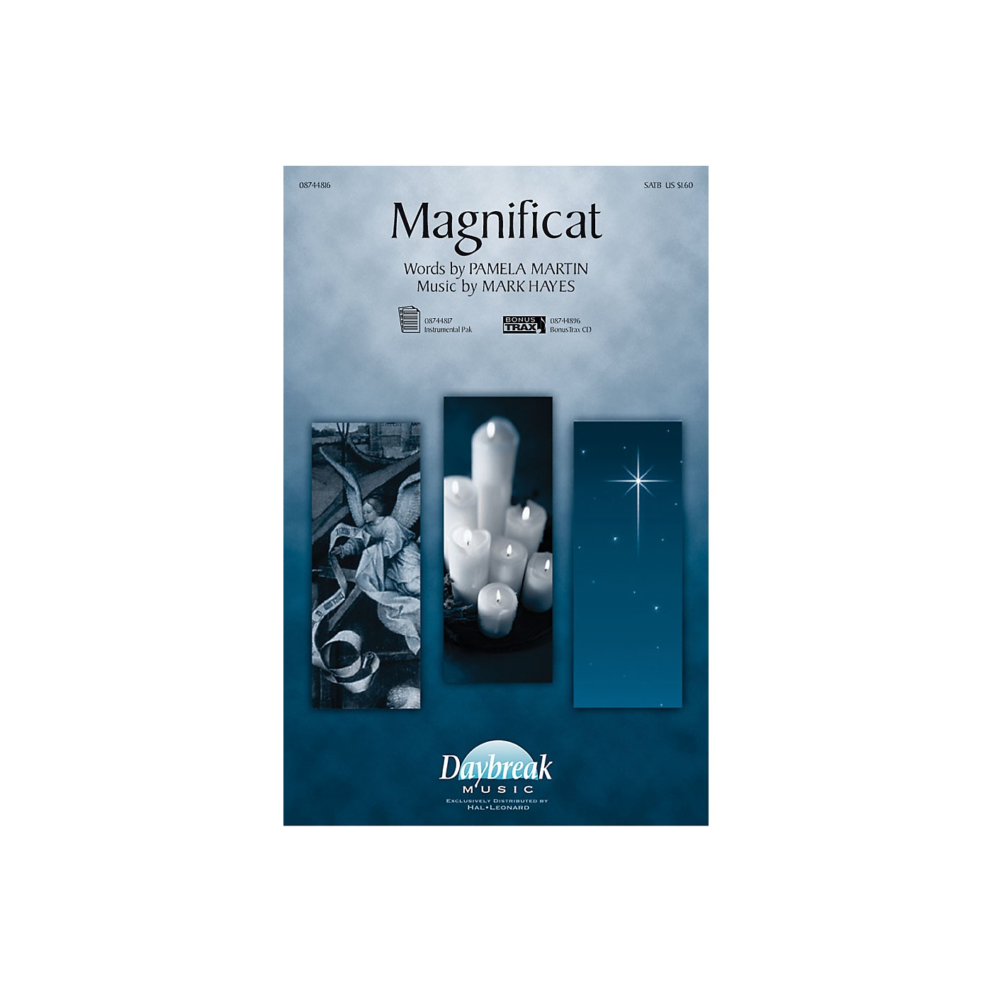 Daybreak Music Magnificat SATB composed by Mark Hayes thumbnail