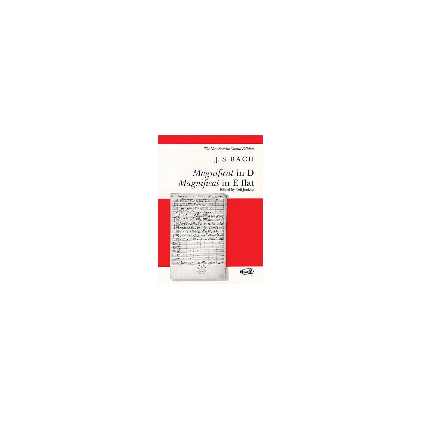 Novello Magnificat in D/Magnificat in E Flat (BWV243 & BWV 243A) SATB Composed by Johann Sebastian Bach thumbnail