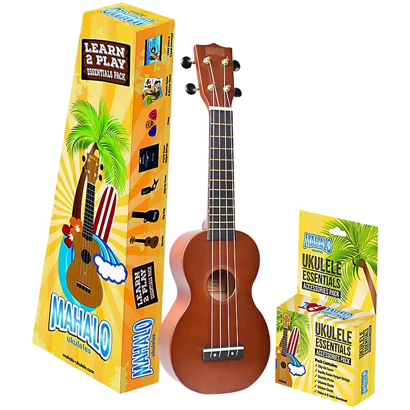 Mahalo Mahalo Rainbow Trans Brown Learn 2 Play Essential Kit thumbnail