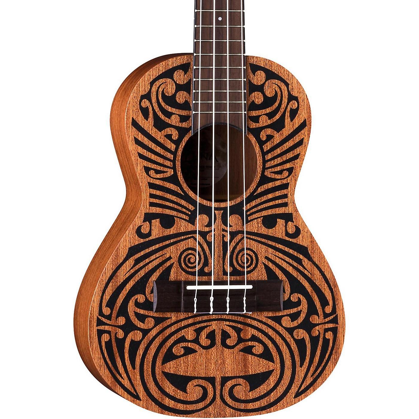 Luna Guitars Mahogany Tribal Tenor Ukulele thumbnail