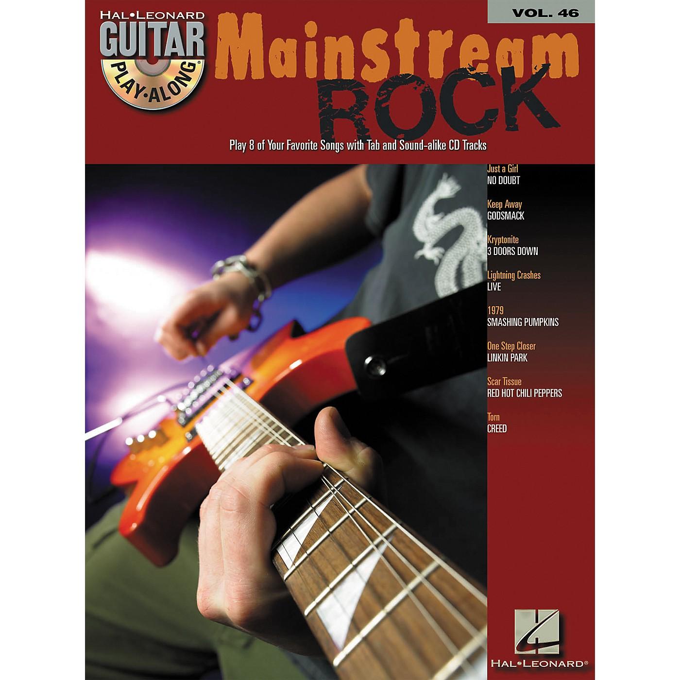 Hal Leonard Mainstream Rock Guitar Play-Along Volume 46 Book with CD thumbnail