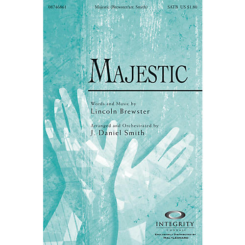 Integrity Music Majestic Accompaniment/Split Track CD by Lincoln Brewster Arranged by J. Daniel Smith thumbnail