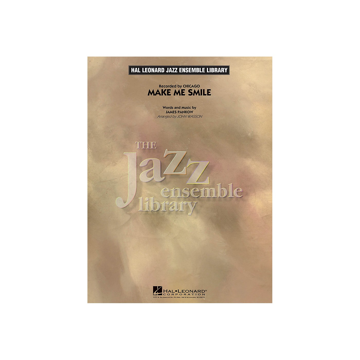 Hal Leonard Make Me Smile - The Jazz Essemble Library Series Level 4 thumbnail