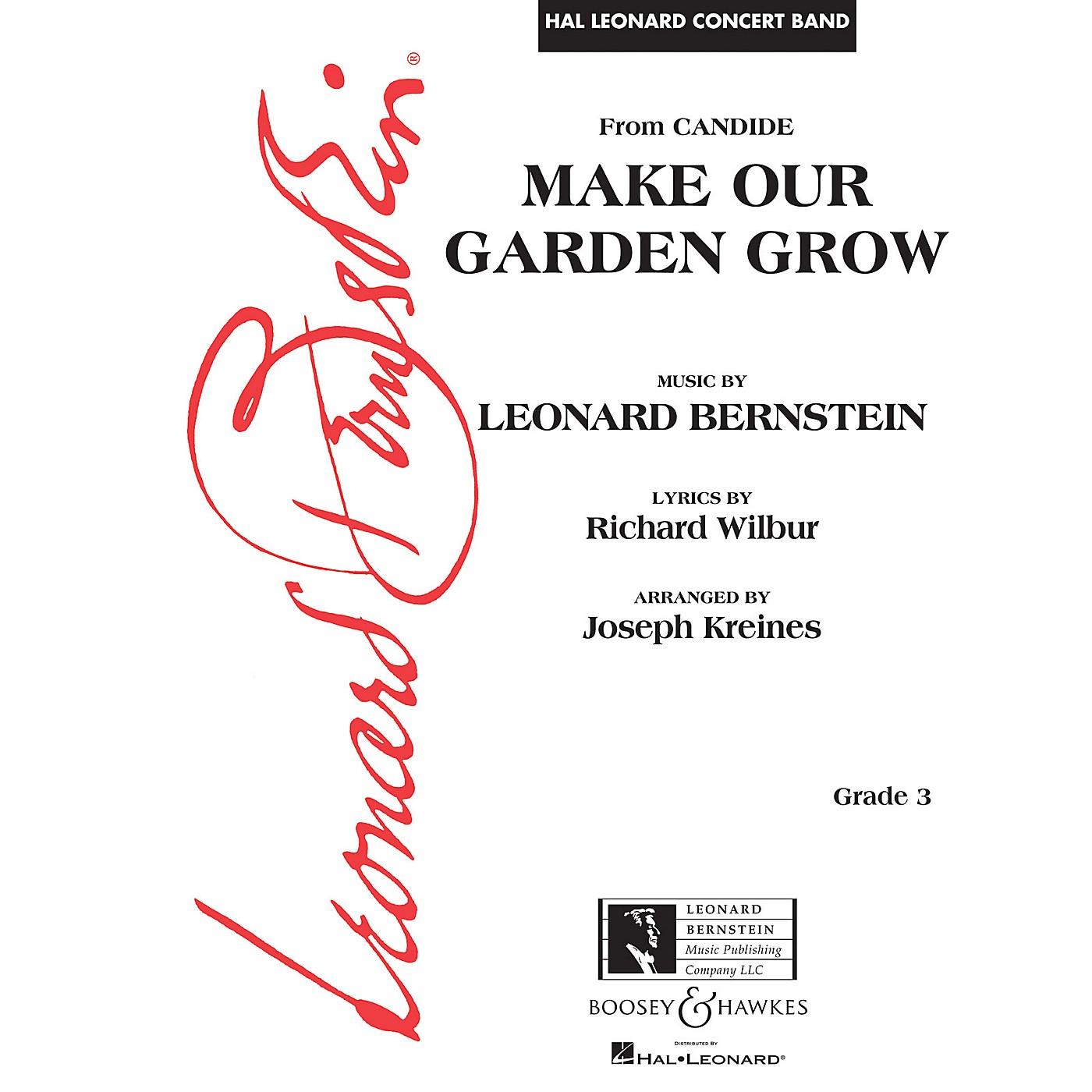 Leonard Bernstein Music Make Our Garden Grow (from Candide) Concert Band Level 3 arranged by Joseph Kreines thumbnail