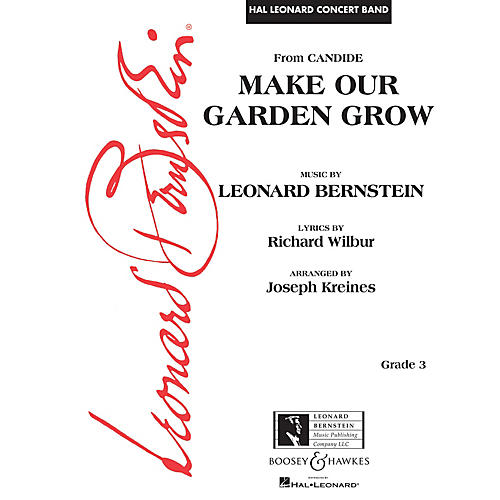 Leonard Bernstein Music Make Our Garden Grow (from Candide) Concert Band Level 3 arranged by Joseph Kreines thumbnail