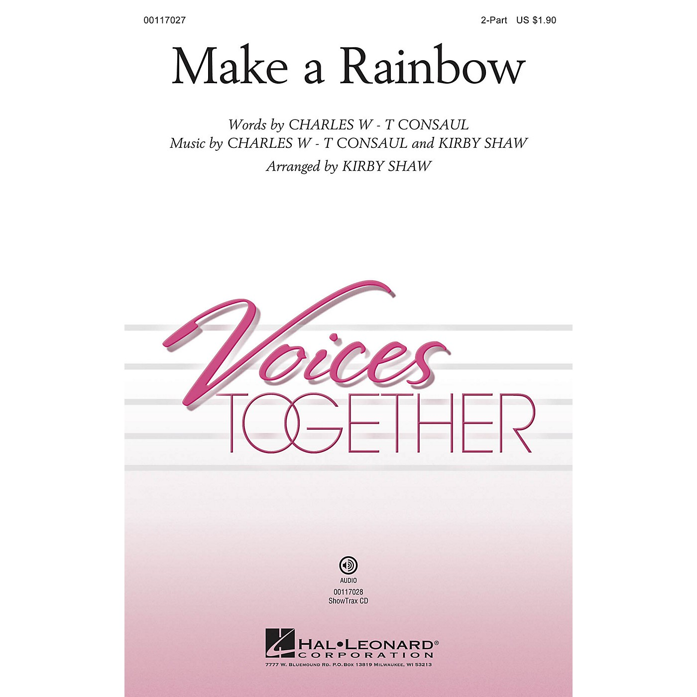 Hal Leonard Make a Rainbow ShowTrax CD Arranged by Kirby Shaw thumbnail