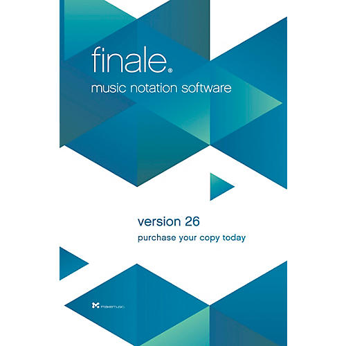 Alfred MakeMusic Finale 26 Trade Up Software (download) thumbnail