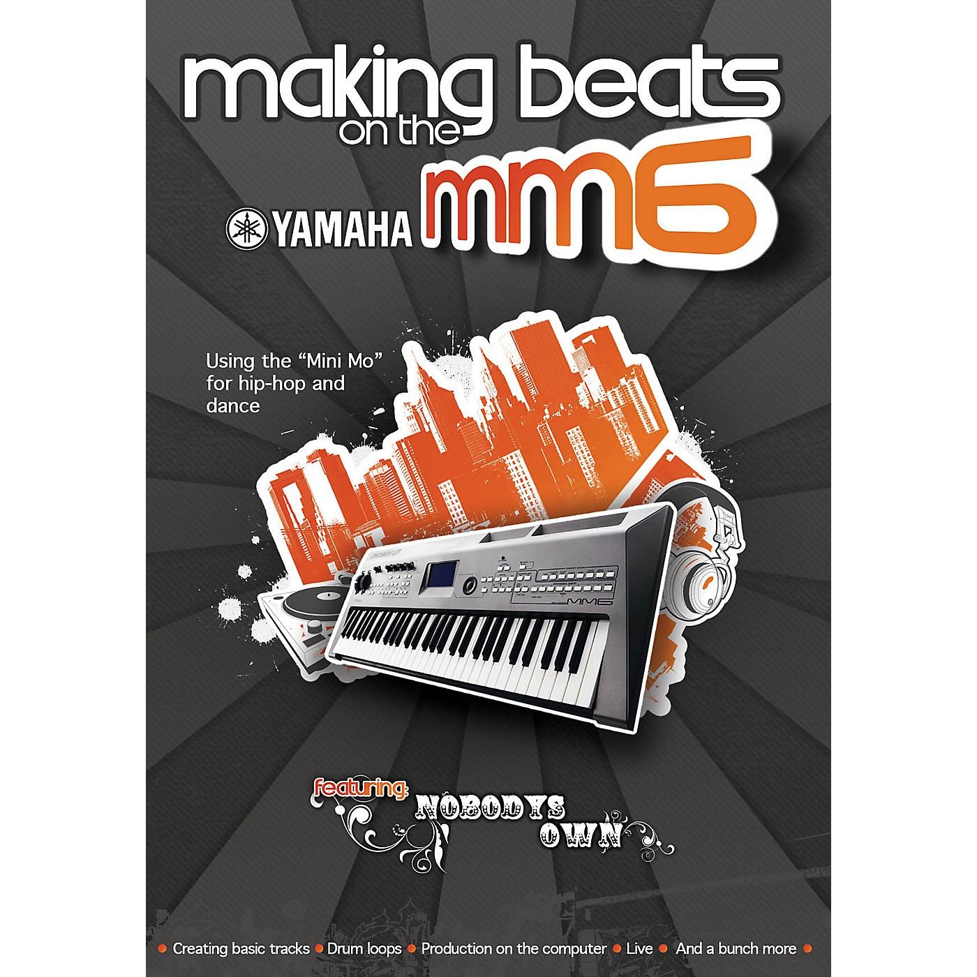 Keyfax Making Beats on the Yamaha MM6 DVD Series DVD Written by David Bortnick thumbnail