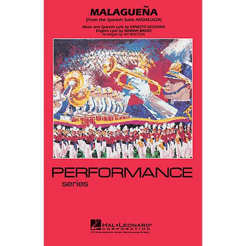 Hal Leonard Malagueña Marching Band Level 3-4 Arranged by Jay Bocook thumbnail