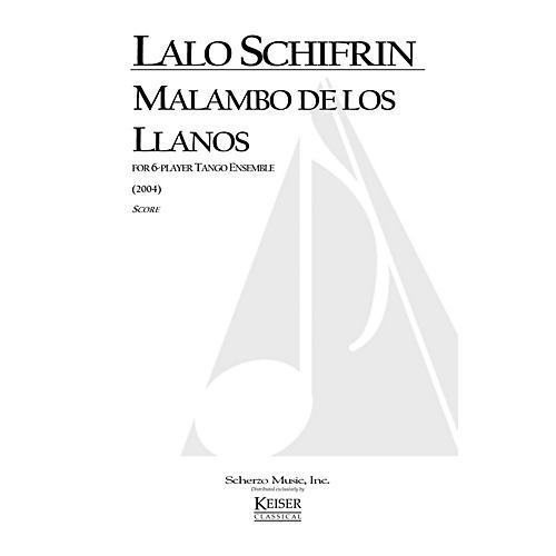 Lauren Keiser Music Publishing Malambo de los Llanos (for 6-Player Tango Ensemble) LKM Music Series by Lalo Schifrin thumbnail