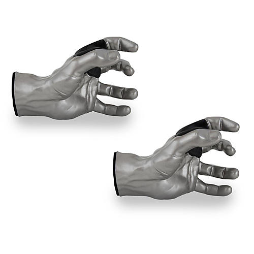 Grip Studios Male Guitar Grip Hanger Left Hand Model Silver - 2 Pack thumbnail
