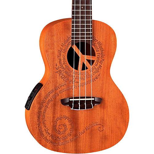 Luna Guitars Maluhia Concert Acoustic-Electric Ukulele thumbnail