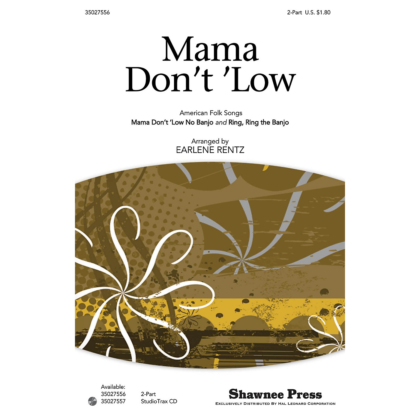 Shawnee Press Mama Don't 'Low (with Ring, Ring the Banjo American Folk Songs) 2-Part arranged by Earlene Rentz thumbnail