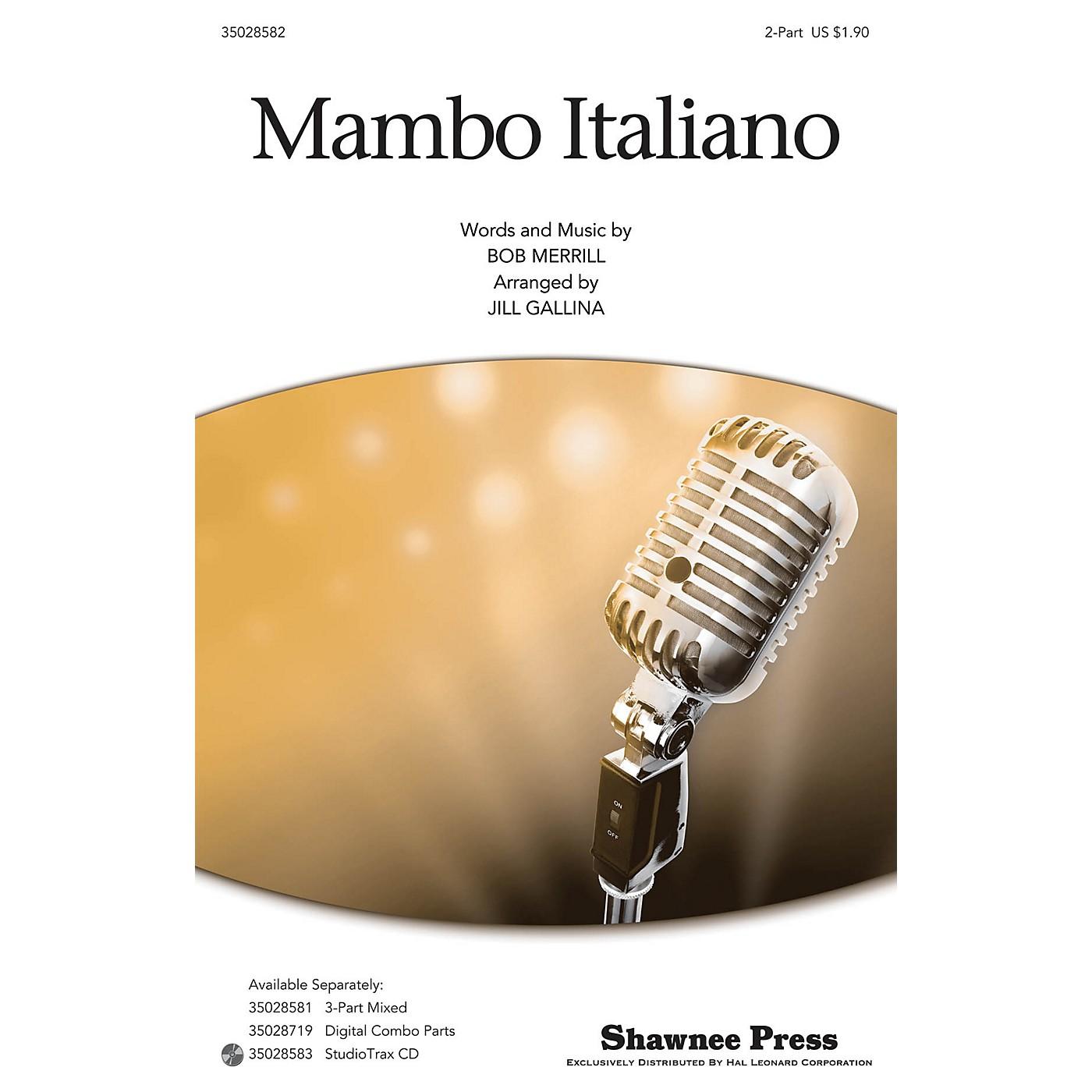 Hal Leonard Mambo Italiano 2-Part by Rosemary Clooney arranged by Jill Gallina thumbnail
