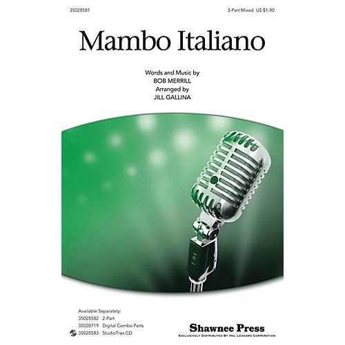 Shawnee Press Mambo Italiano 3-Part Mixed by Rosemary Clooney arranged by Jill Gallina thumbnail