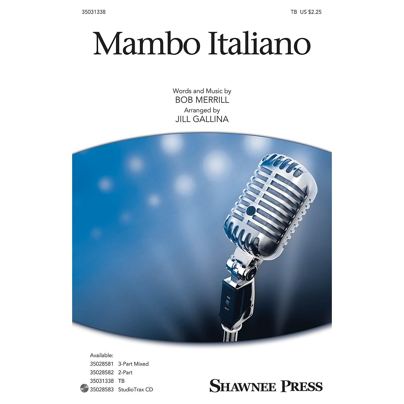 Shawnee Press Mambo Italiano TB arranged by Jill Gallina thumbnail