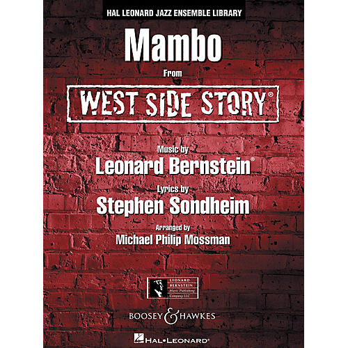 Leonard Bernstein Music Mambo (from WEST SIDE STORY) Jazz Band Level 4 Arranged by Michael Philip Mossman thumbnail