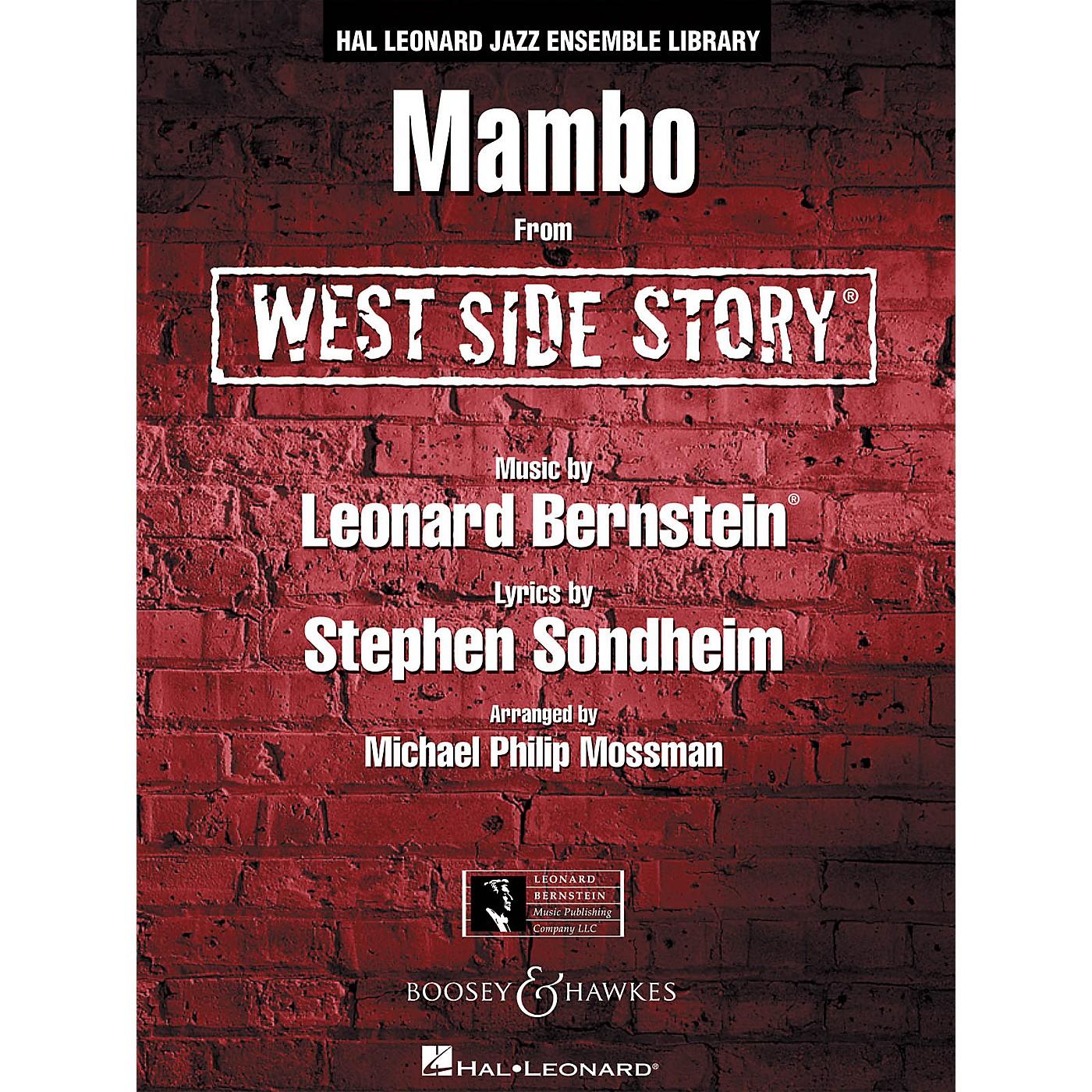 Hal Leonard Mambo (from west Side Story) - Jazz Ensemble Full Score Jazz Band thumbnail