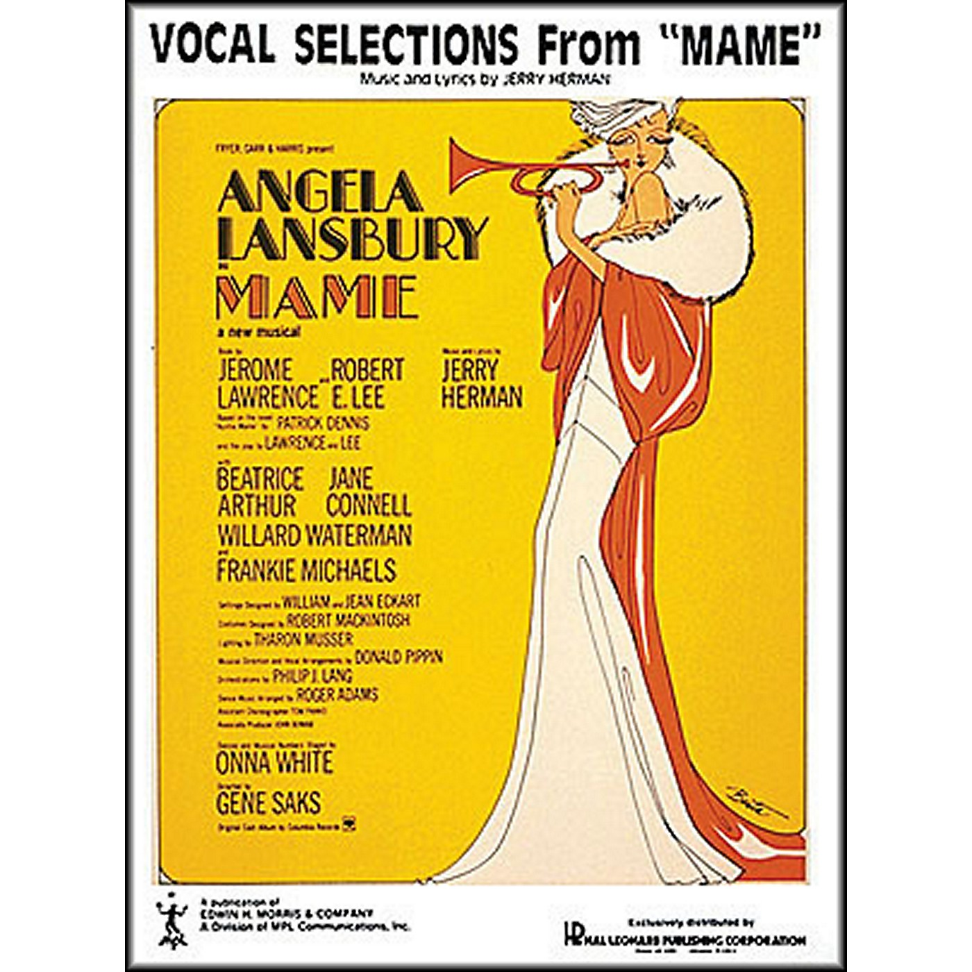 Hal Leonard Mame Vocal Selections arranged for piano, vocal, and guitar (P/V/G) thumbnail