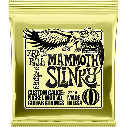Ernie Ball Mammoth Slinky Nickel Wound Electric Guitar Strings - Gauge thumbnail