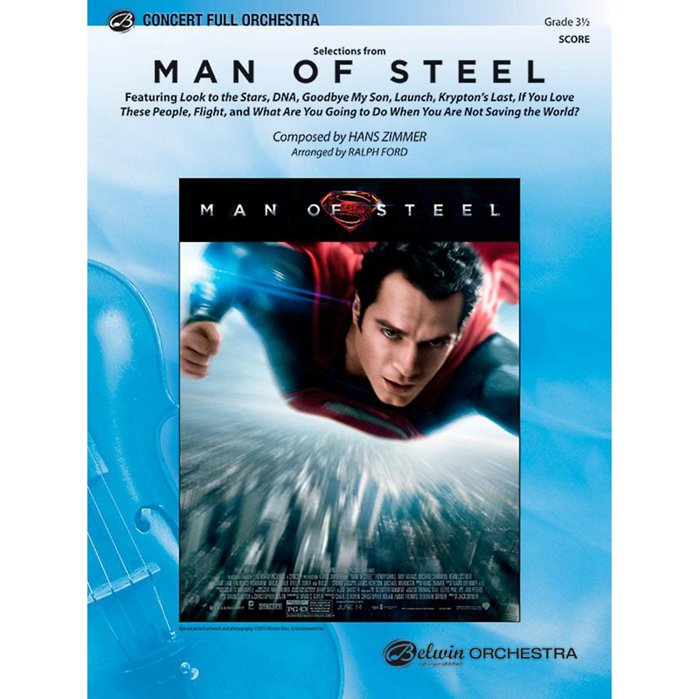 Alfred Man of Steel, Selections from Full Orchestra Level 3.5 Set thumbnail