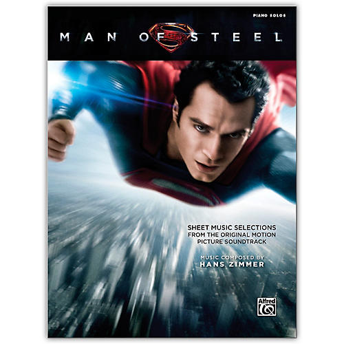 Alfred Man of Steel Sheet Music Selections Piano Solos Book thumbnail