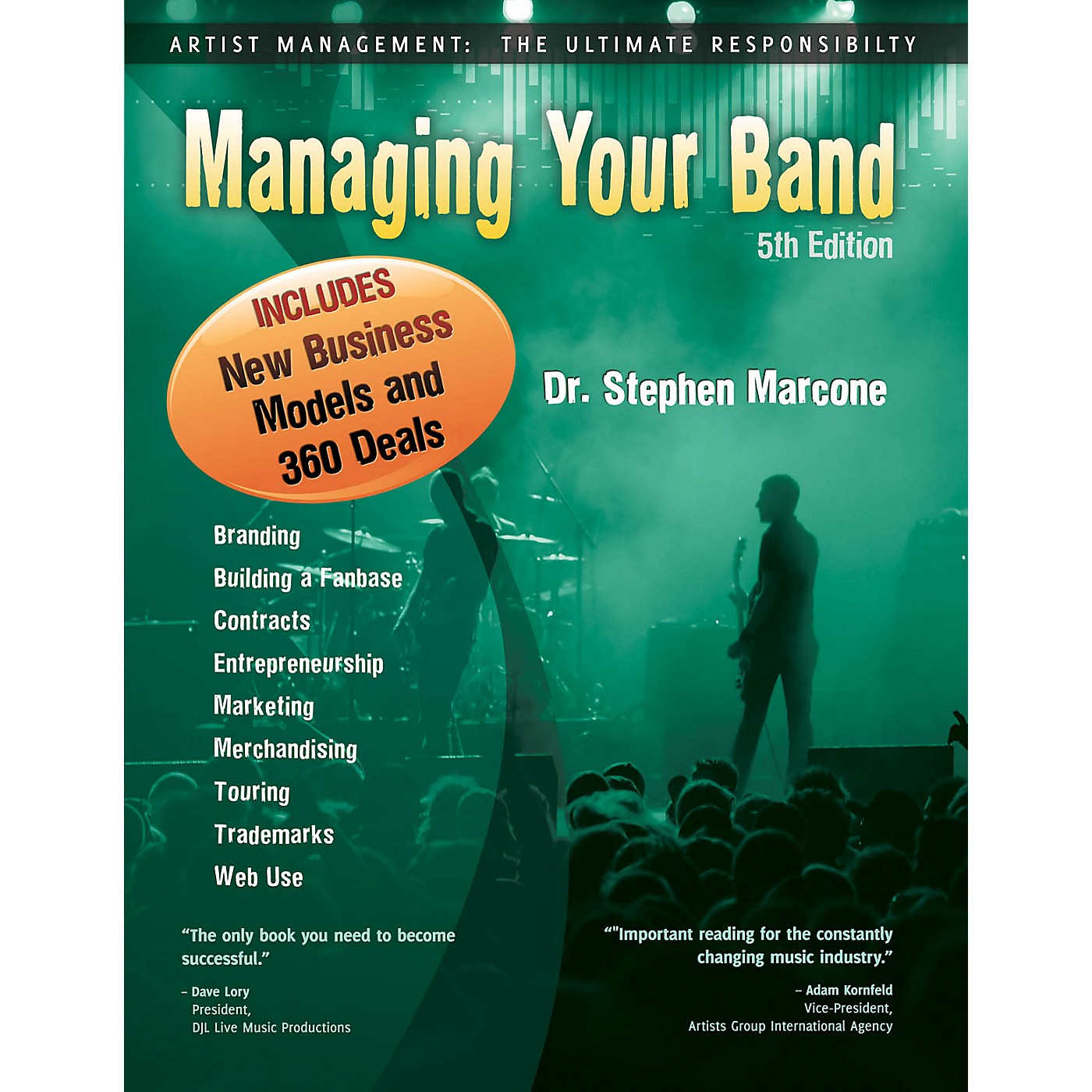 HiMarks Publishing Co. Managing Your Band (5th Edition) Book Series Softcover Written by Dr. Stephen Marcone thumbnail