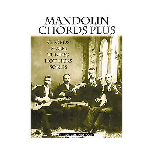 Centerstream Publishing Mandolin Chords Plus Technique Book thumbnail