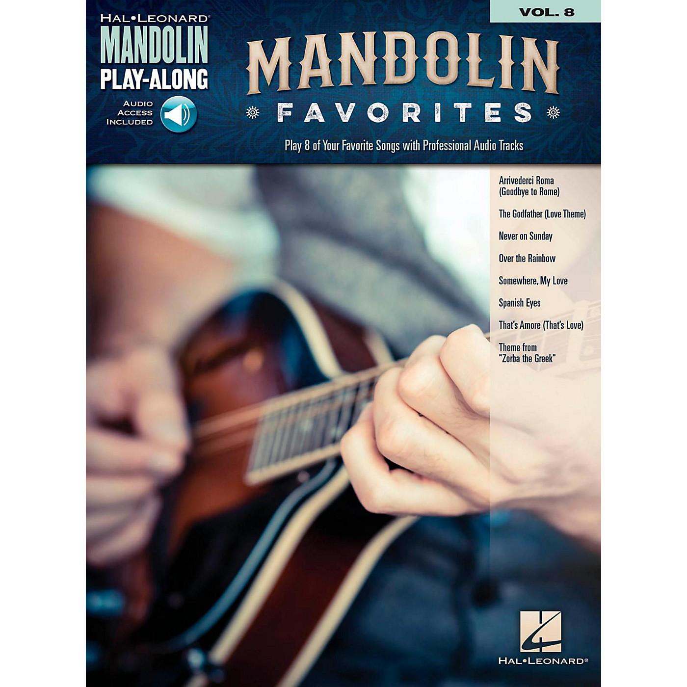 Hal Leonard Mandolin Favorites - Mandolin Play-Along Vol. 8 Book/Audio Online thumbnail