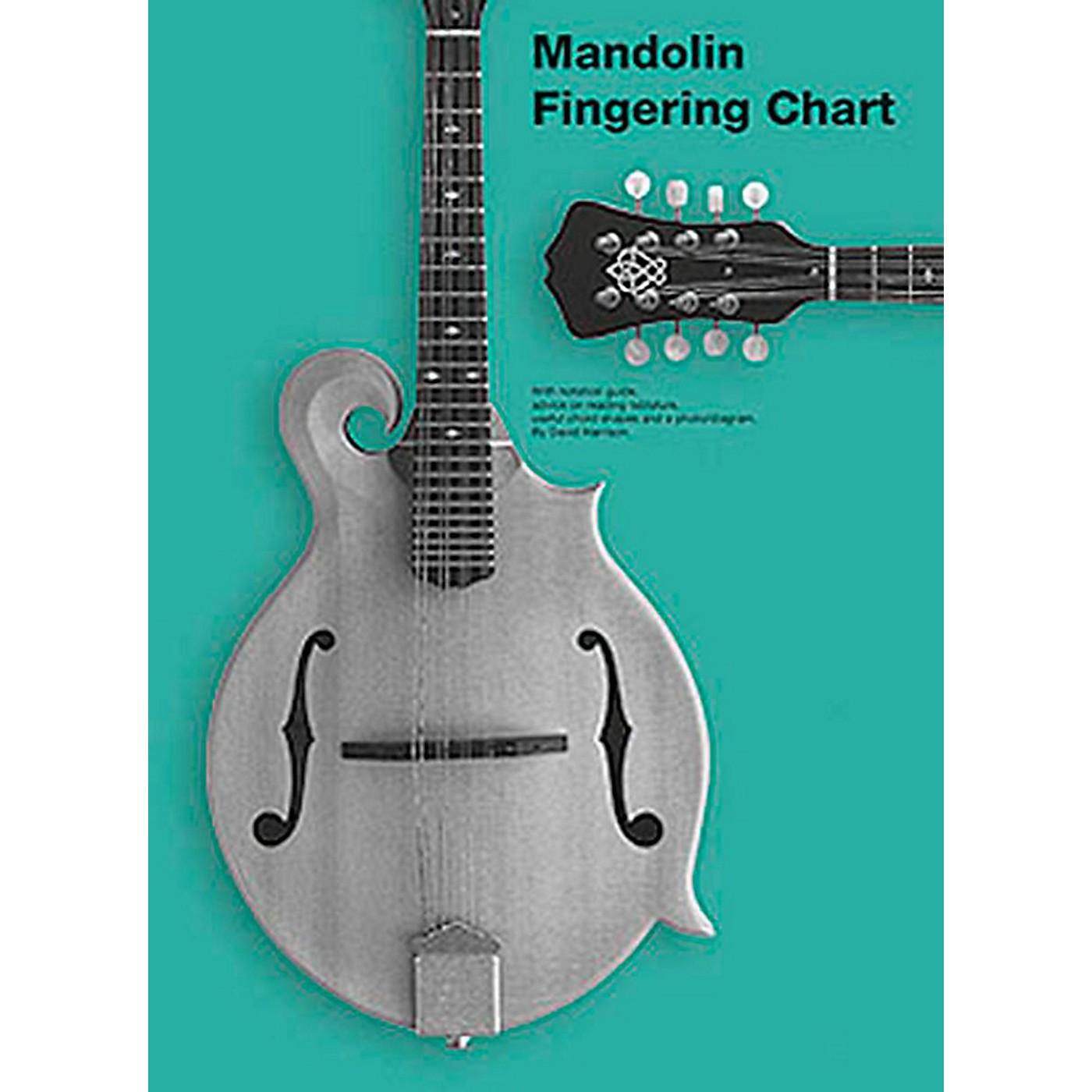 Music Sales Mandolin Fingering Chart thumbnail