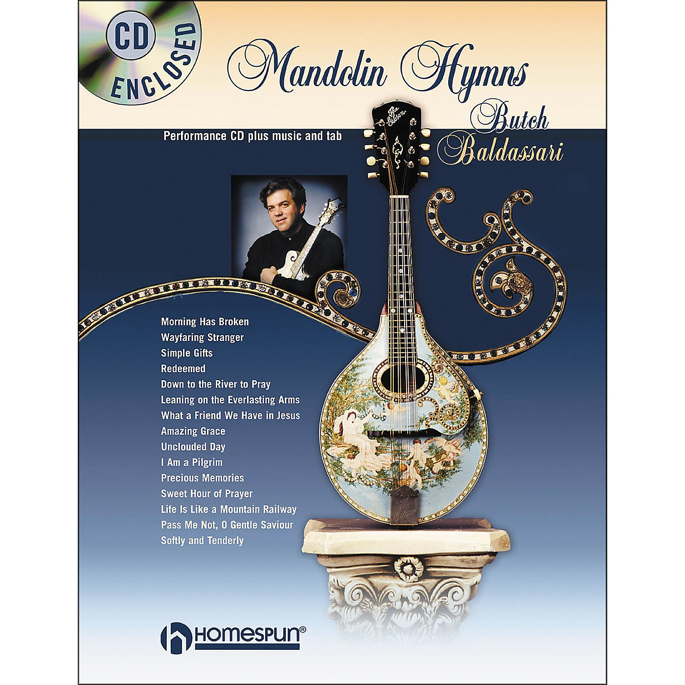 Homespun Mandolin Hymns (Book/CD) thumbnail