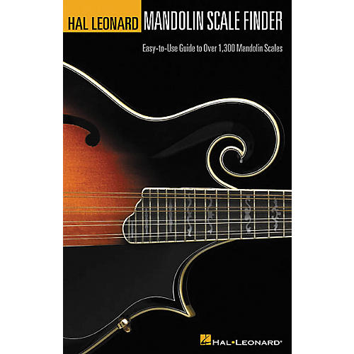Hal Leonard Mandolin Scale Finder 6x9 Book thumbnail