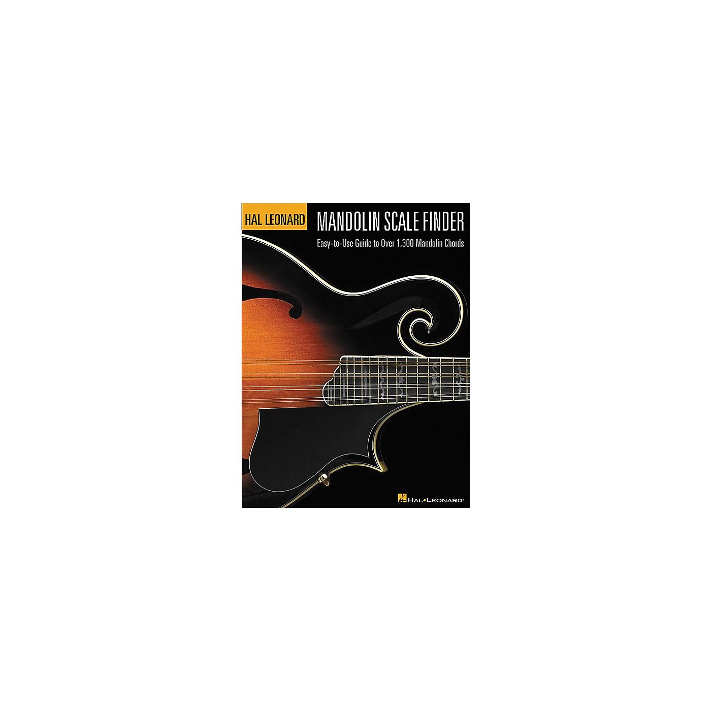 Hal Leonard Mandolin Scale Finder 9x12 Book thumbnail