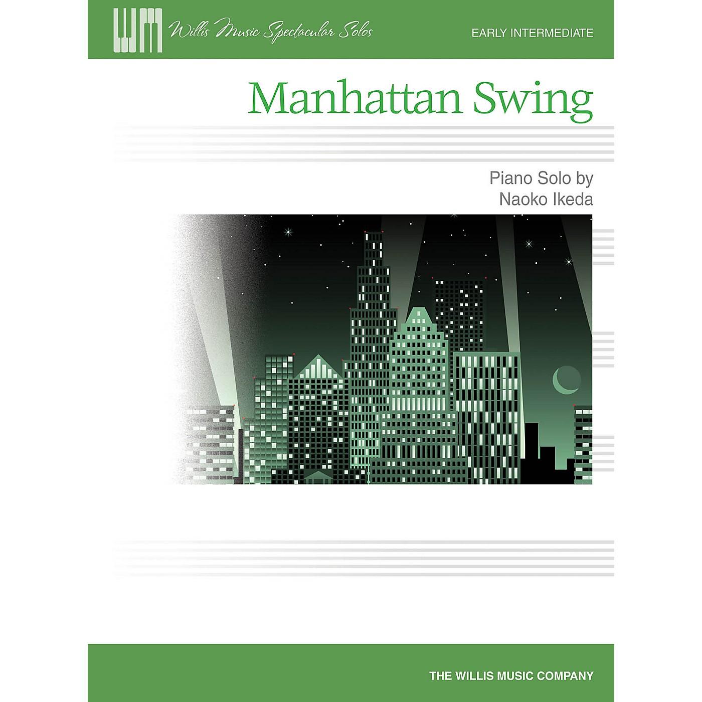 Willis Music Manhattan Swing (Early Inter Level) Willis Series by Naoko Ikeda thumbnail
