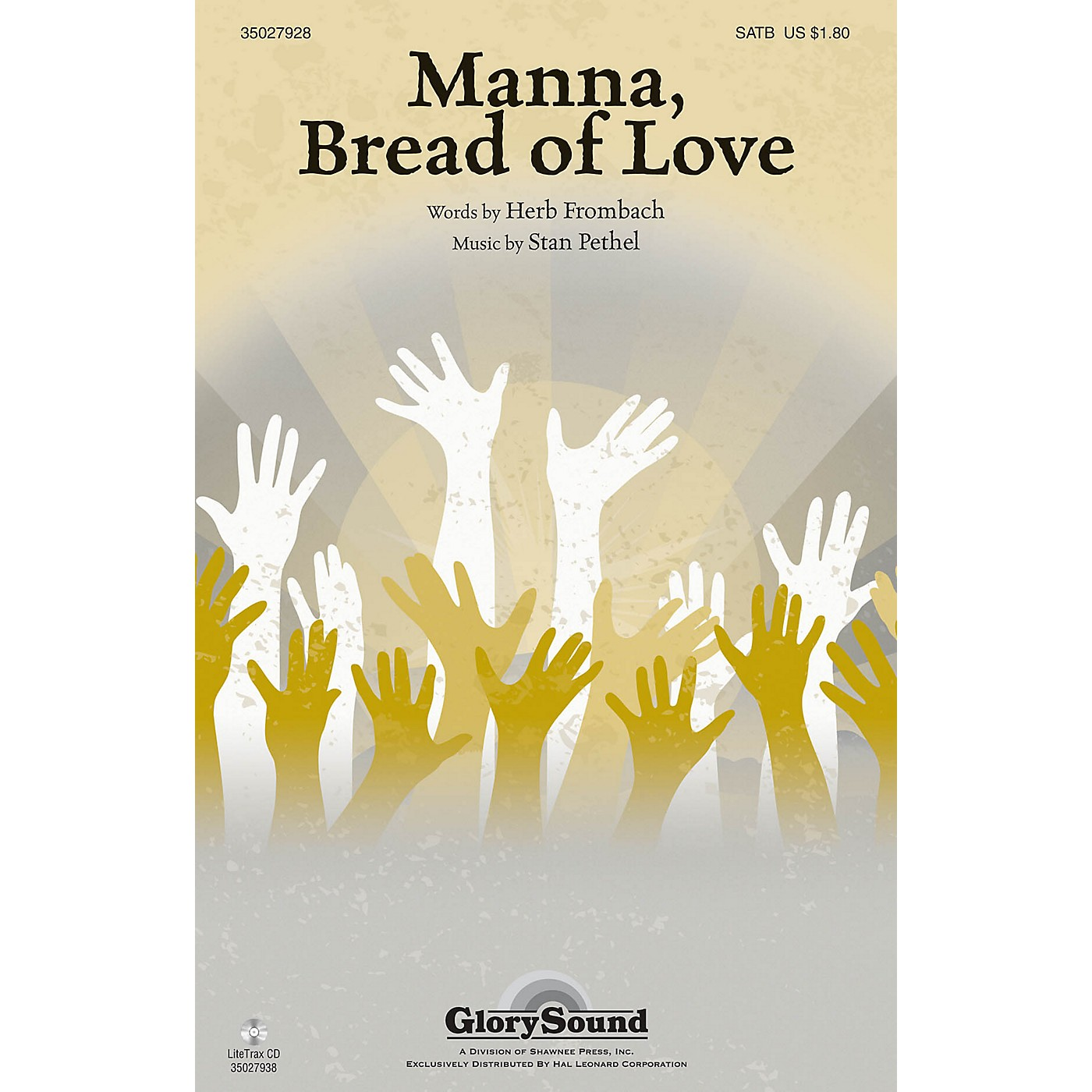 Shawnee Press Manna, Bread of Love SATB composed by Stan Pethel thumbnail