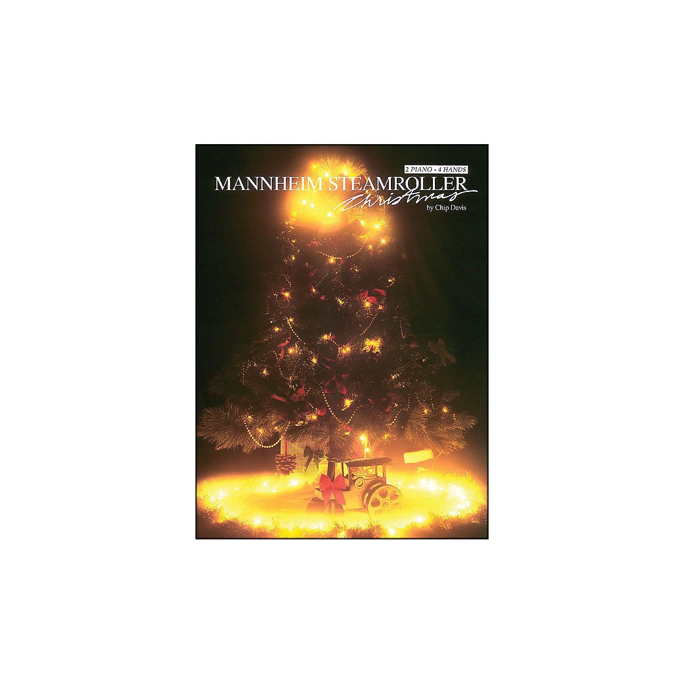 Hal Leonard Mannheim Steamroller - Christmas Duet 2 Pianos, 4 Hands thumbnail