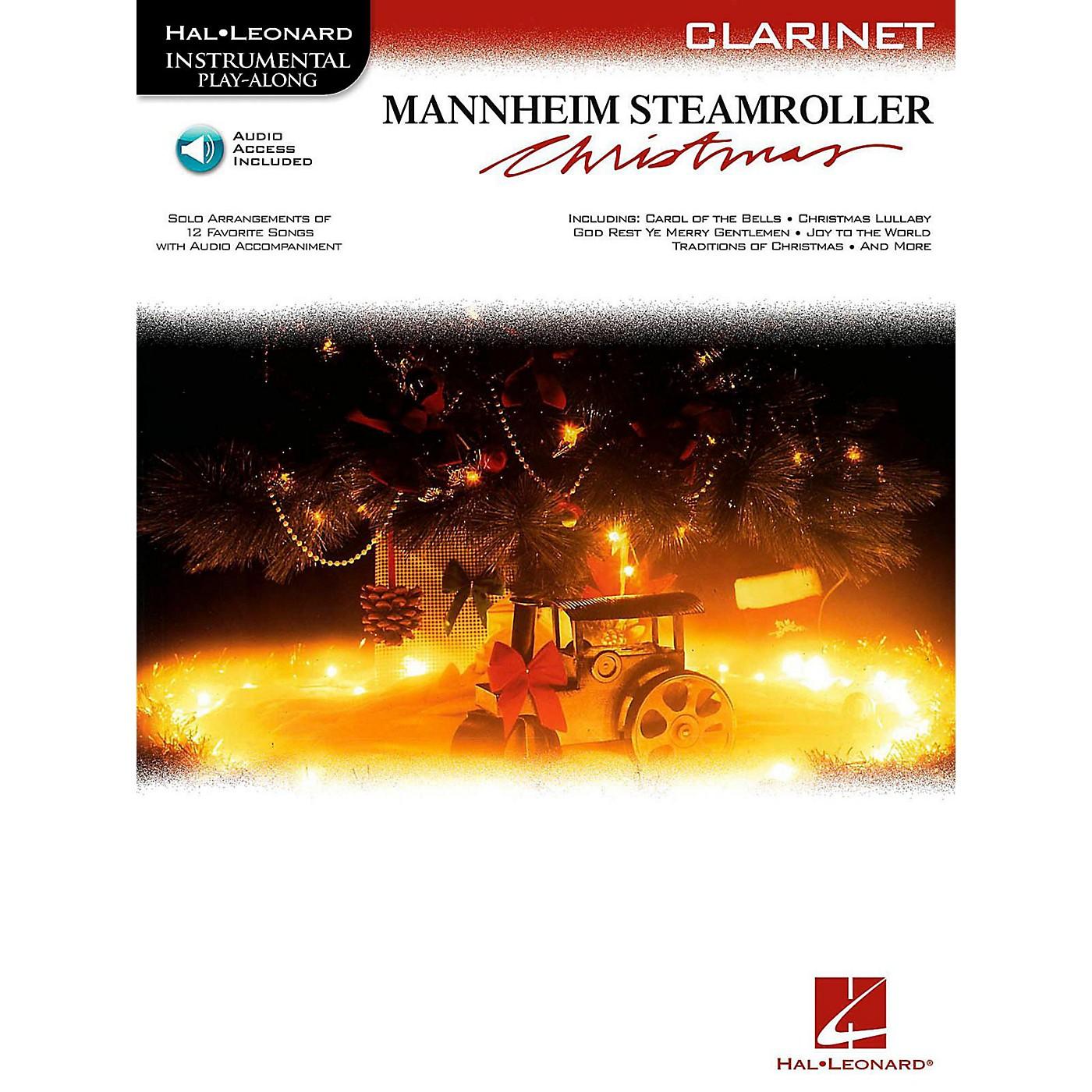 Hal Leonard Mannheim Steamroller Christmas For Clarinet - Instrumental Play-Along (Bk/Audio) thumbnail