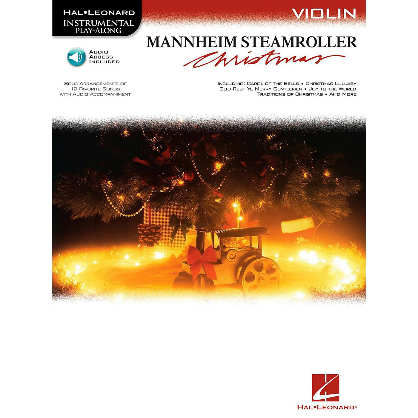 Hal Leonard Mannheim Steamroller Christmas For Violin - Instrumental Play-Along (Bk/Audio) thumbnail